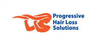 Logoinn created this logo for Progressive Hair Loss Solutions - who are in the Hair Logo Design  Sectors