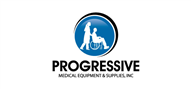 Logoinn created this logo for Progressive Medical Equipment & Supplies, Inc - who are in the Medical Logo  Sectors