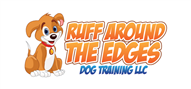 Logoinn created this logo for RUFF AROUND THE EDGES    DOG TRAINING - who are in the Veterinary Logo Design  Sectors