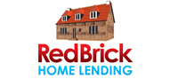 Logoinn created this logo for Red Brick Home Lending - who are in the Real Estate Logo Design  Sectors