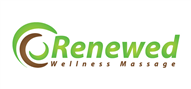 Logoinn created this logo for Renewed Wellness Massage  - who are in the Green Logo  Sectors