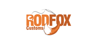 Logoinn created this logo for Rod Fox Customs - who are in the Outdoor Logo Design  Sectors