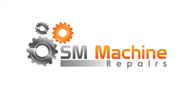 Logoinn created this logo for SM Machine Repairs - who are in the Engineering Services Logo Design  Sectors