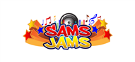 Logoinn created this logo for Sams Jams - who are in the Music Logo Design  Sectors