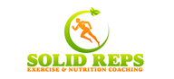 Logoinn created this logo for Solid Reps Exercise & Nutrition Coaching - who are in the Green Logo  Sectors