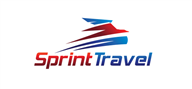 Logoinn created this logo for Sprint Travel - who are in the Transportation Logo Design  Sectors