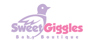 Logoinn created this logo for Sweet Giggles Baby Boutique - who are in the Apparel Logo Design  Sectors