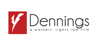 Logoinn created this logo for The Dennings Firm - who are in the Law Logo Design  Sectors