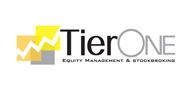 Logoinn created this logo for TierONE Equity Management & Stockbroking - who are in the Computer Logo Design  Sectors