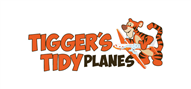 Logoinn created this logo for Tigger's Tidy Planes - who are in the Cleaning Services Logo Design  Sectors