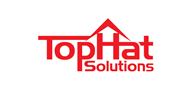 Logoinn created this logo for Top Hat Solutions LLC - who are in the Property Logo  Sectors