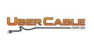 Logoinn created this logo for UberCable - who are in the Computer Logo Design  Sectors