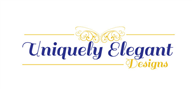 Logoinn created this logo for Uniquely Elegant Designs - who are in the Decoration Logo Design  Sectors
