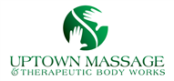Logoinn created this logo for Uptown Massage & Theraputic Body Works - who are in the Salon Logo Design  Sectors