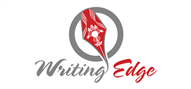 Logoinn created this logo for Writing Edge - who are in the Communication Logo Design  Sectors