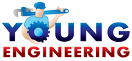 Logoinn created this logo for Young Engineering - who are in the Engineering Services Logo Design  Sectors