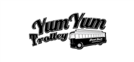 Logoinn created this logo for Yum Yum Trolley - who are in the Restaurants Logo Design  Sectors