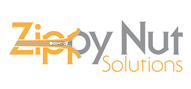 Logoinn created this logo for Zippy Nut Solutions - who are in the Information Technology Logo Design  Sectors
