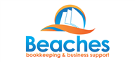 Logoinn created this logo for beaches bookkeeping & business support - who are in the Accountancy Firm Logo Design  Sectors