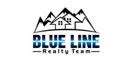 Logoinn created this logo for blue line realty team - who are in the Real Estate Logo Design  Sectors