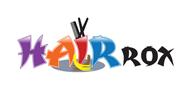 Logoinn created this logo for hairROX - who are in the Hair Logo Design  Sectors