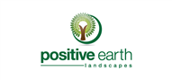 Logoinn created this logo for positive earth landscapes - who are in the Landscape Logo Design  Sectors