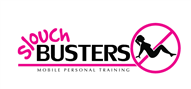 Logoinn created this logo for slouch busters personal training - who are in the Fun Logo  Sectors