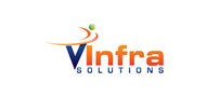 Logoinn created this logo for vInfra Solutions - who are in the Information Technology Logo Design  Sectors