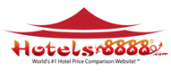 Logoinn created this logo for www.HOTELS8888.COM - who are in the Hotel Logo  Sectors