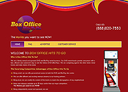 This website is designed by Logoinn for 'Box Office' in February, 2012.