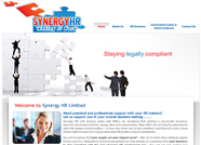 This website is designed by Logoinn for ' Synergy HR LTD'  in June , 2011.