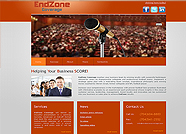 This website is designed by Logoinn for 'EndZone Coverage'  in June , 2011.