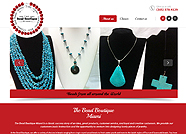 This website is designed by Logoinn for 'The Bead Boutique Miami' in Feb, 2014.