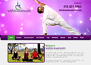 This website is designed by Logoinn for ' Ushtrasanam' in Dec, 2015.