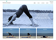 This website is designed by Logoinn for 'Kalaa Yoga'  in March  , 2013