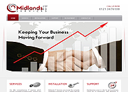 This website is designed by Logoinn for 'Midlands IT Services' in Jan, 2012.