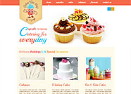 This website is designed by Logoinn for 'Cakes The Way'  in July  , 2012