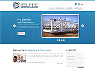 This website is designed by Logoinn for 'Elite Electrical & Construction'  in November  , 2012