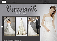 This website is designed by Logoinn for 'Varsenik Tailoring' in Jan, 2014.