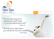 This website is designed by Logoinn for 'SariyaYoga' in February, 2012