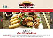 This website is designed by Logoinn for 'dans dim sim Kitchen' in Jan, 2014.