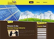 This website is designed by Logoinn for 'Bee Energy' in March  , 2013