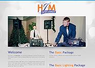 This website is designed by Logoinn for ' HJM Entertainment ' in November, 2011.