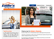 This website is designed by Logoinn for ' Eddie's Driving School ' in November, 2011.