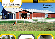 This website is designed by Logoinn for 'Premier Equine Barns' in May, 2012.
