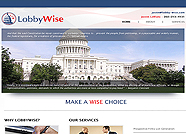 This website is designed by Logoinn for ' LobbyWise'  in February, 2012.