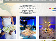 This website is designed by Logoinn for 'Scarlett Weddings' in Jan, 2012.