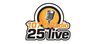 Logoinn created this logo for 107.9 Radio 25 Live - who are in the Entertainment Logo Design  Sectors
