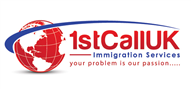 Logoinn created this logo for 1st Call Immigration Services - who are in the Law Logo Design  Sectors