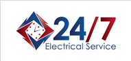 Logoinn created this logo for 24/7 Electrical Service - who are in the Services Logo Design  Sectors